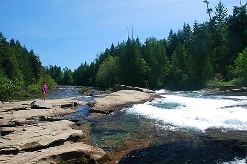 Nymph Falls, Courtenay, Vancouver Island, British Columbia, Canada.
