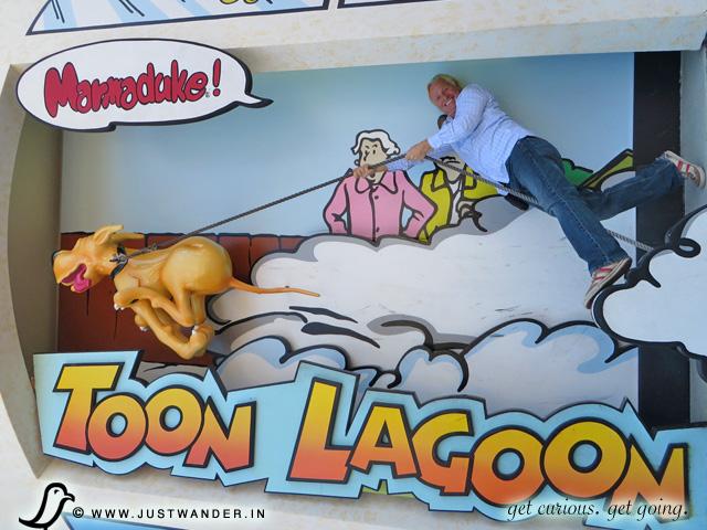 PIC: Toon Lagoon - Marmaduke!