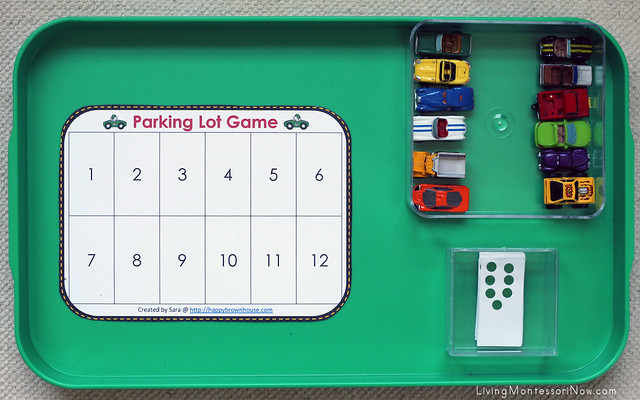 Car Parking Game Tray