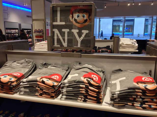 I Super Mario NY Nintendo World T-Shirt