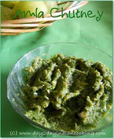 recipe of making amla chutney