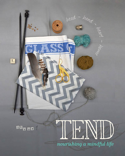 Tend Issue 1 Front Cover