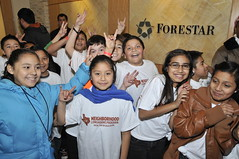 NLP kids visiting Forestar
