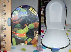 PAPER MAGIC GROUP :: Nickelodeon TEENAGE MUTANT NINJA TURTLES ; VALENTINE'S MAIL BOX vi // ..box (( 2014 ))