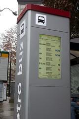 OneBusAway info screen