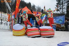 SNOW tour 2013/14: Karolinka - skicross a Viki Cabadaj