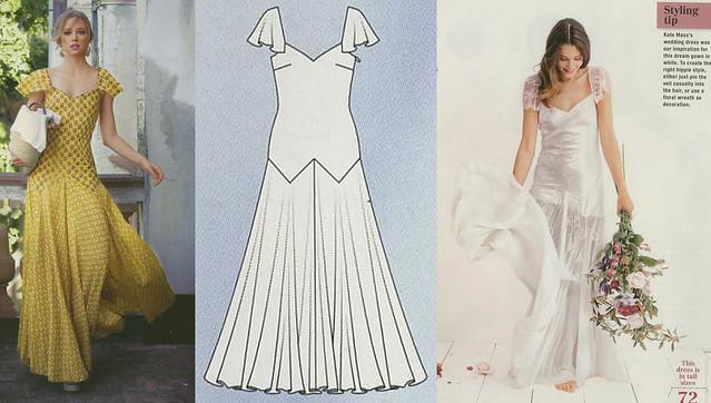 Burda-March-2014 Princess Dress