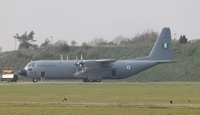 NAF918 Lockheed C-130H Hercules Nigerian Air Force