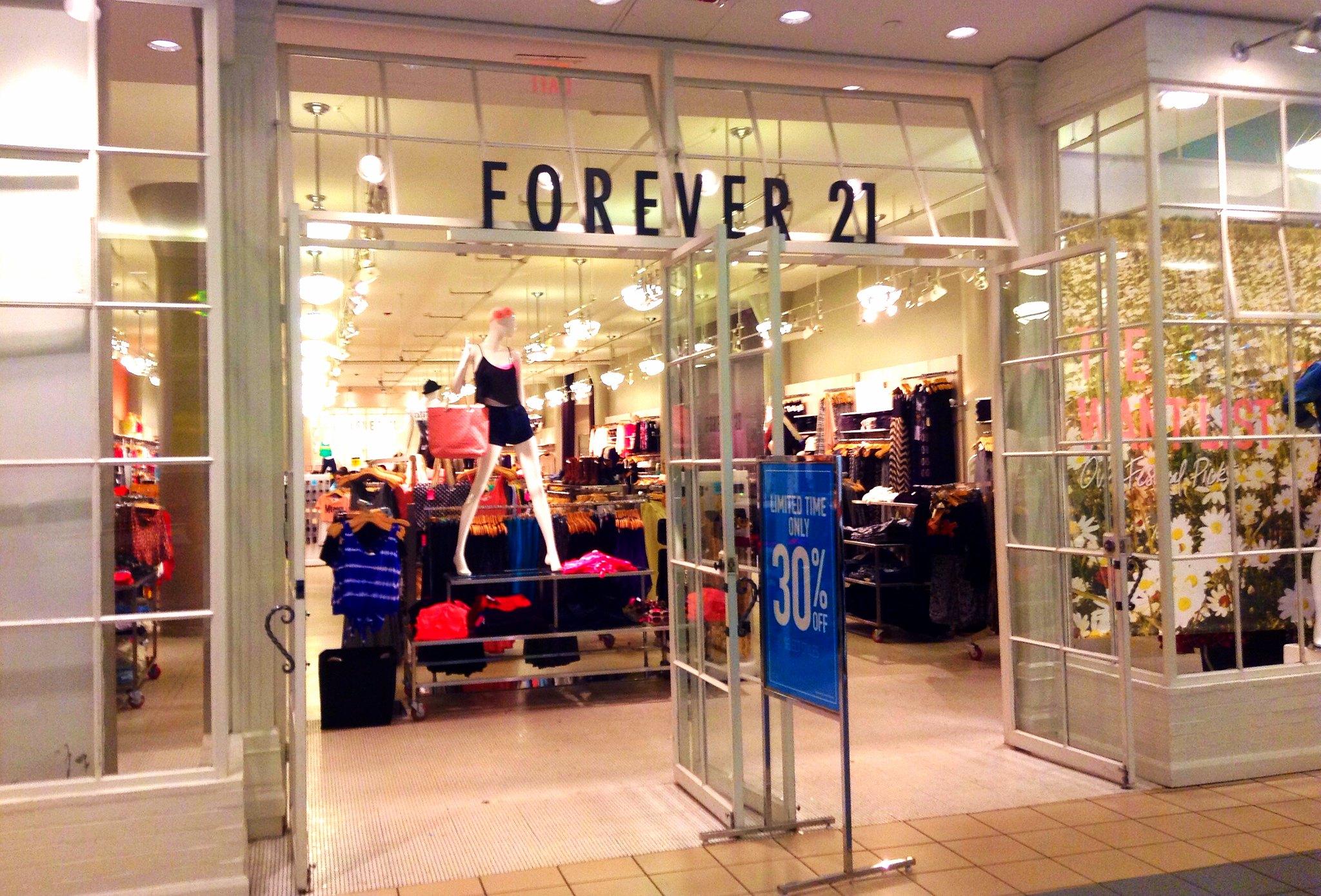forever 21 compras en chile