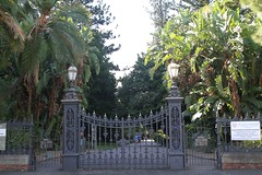 Adelaide Botanic Garden - North Terrace Main Gates, 2014