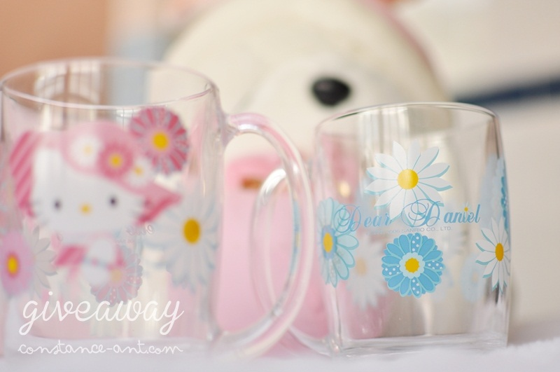 {Giveaway} Hello Kitty Couple Cups