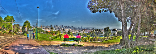 Dolores Park April 18 HDR Panorama
