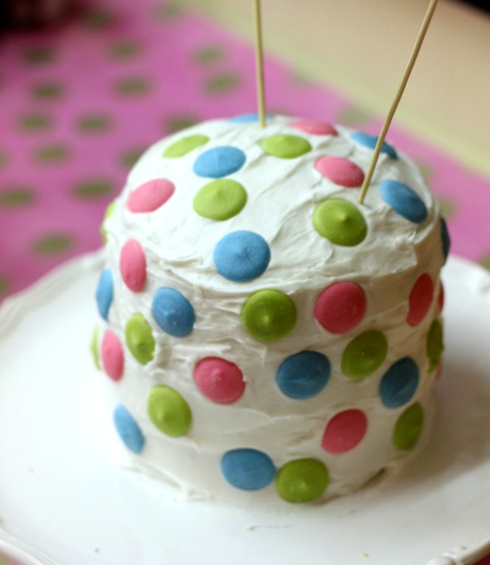 Hi Sugarplum | Polka Dot Cake