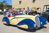 1937 Delahaye 135 Competition Court Torpedo Roadster by Figoni et Falaschi at Amelia Island 2014