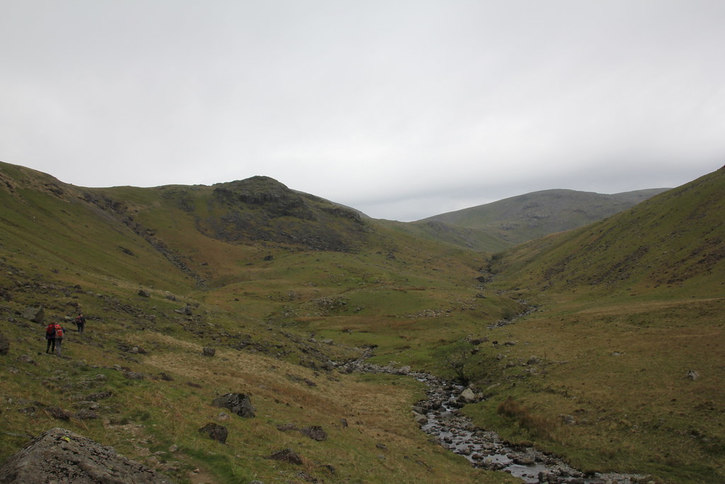 Nether Beck, Over Beck, Scoat Tarn, Scoat Fell, Red Screes