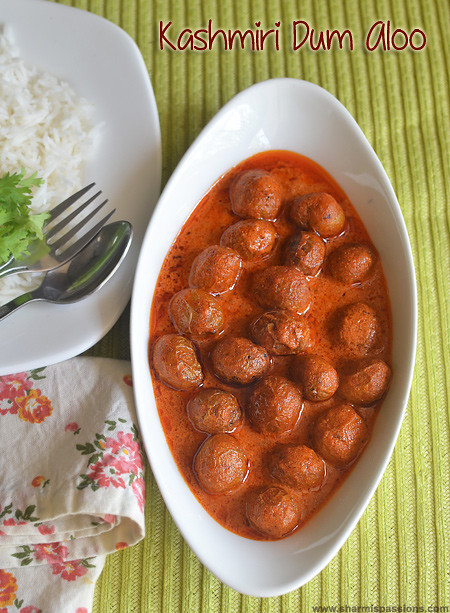 Kashmiri Dum Aloo Recipe