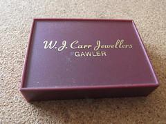 W.J. Carr jewellers nth next to Bunyip