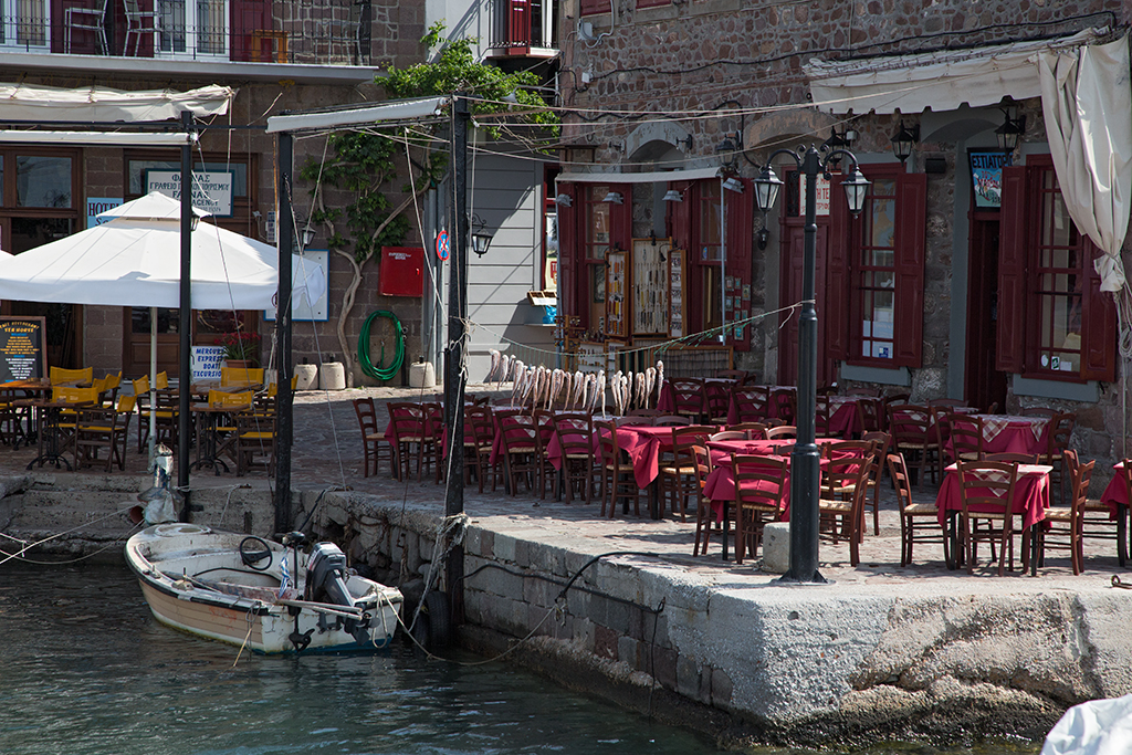 Molyvos harbour 2014-05-01