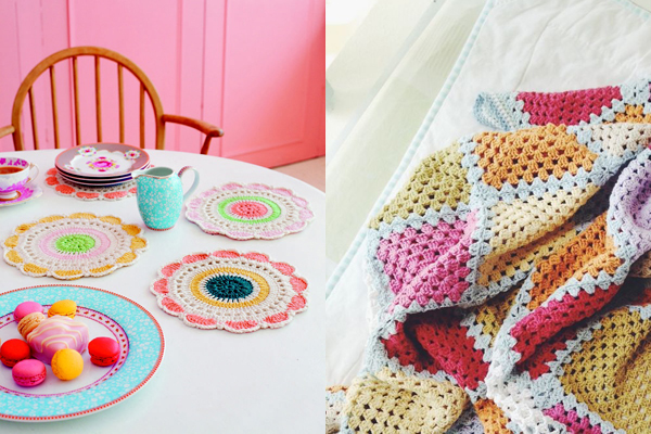 crochet pinning : happy colours! / Favourite picks from the Makers on Pinterest 'Crochet' board managed by Emma Lamb