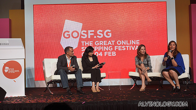 Third from left: Joanna Flint, Country Director, Singapore, Google Asia Pacific