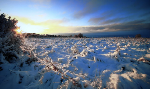 morning winter light snow sunrise canon landscape scenery drohiczyn cesarz marcelxyz