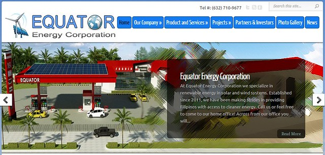 Equator Energy Corporation Web Site