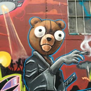 stoned jedi teddy bear