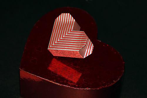Origami Secret Heart Box (Akiko Yamanashi)