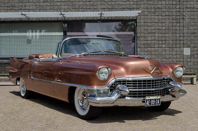 Cadillac Eldorado 1955 bronze fr3q