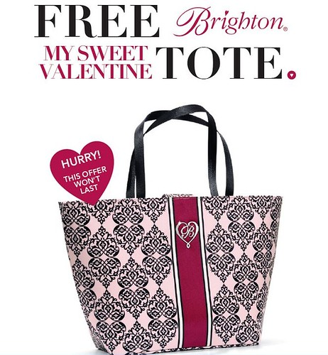 Get a FREE Brighton Tote Bag | Headquarters
