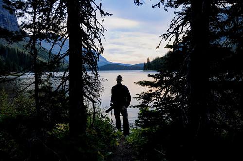 Lake Josephine, Glacier National Park HDR