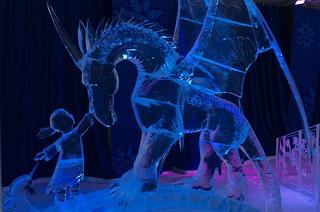 Ice Sculpture by Karlis Ile and Maija Puncule (Latvia) - The Imagination
