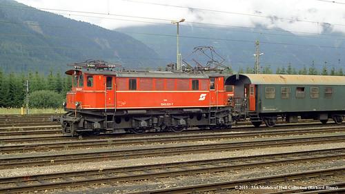 electric train austria österreich eisenbahn railway zug öbb shunter selzthal 12455317 br1245