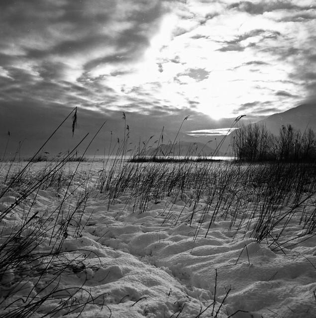 vigano' gianluca - Snow at the lake