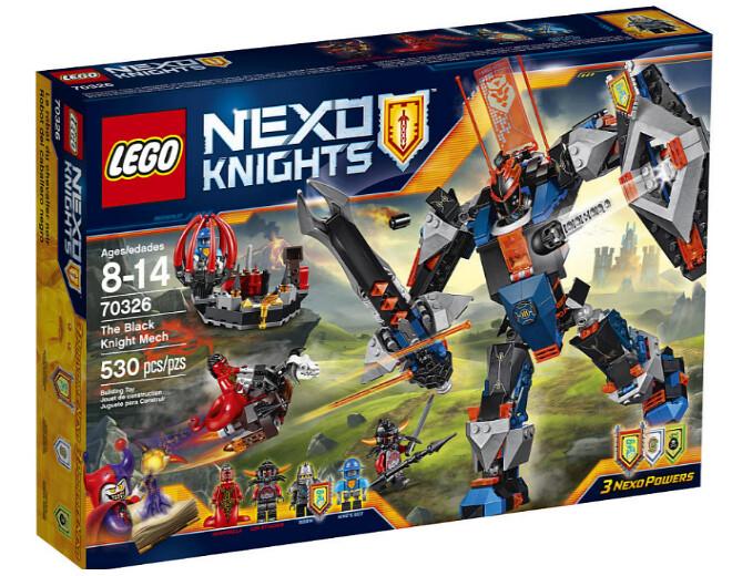 Nexo Knigths 2016: 70326 - The Black Knight Mech