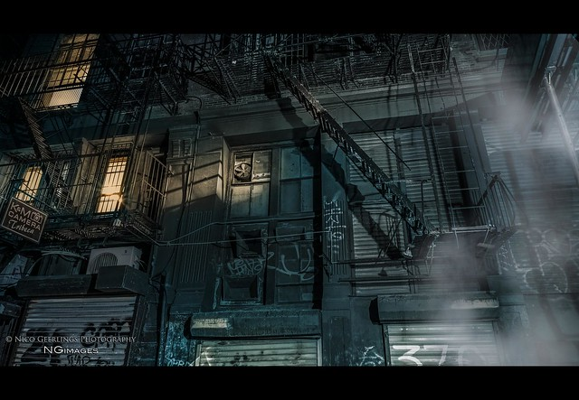 nyc#77 - Fire Escapes