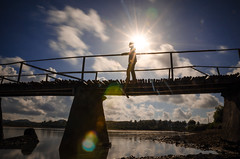 Someone On The Bridge - Seger Beach, Lombok