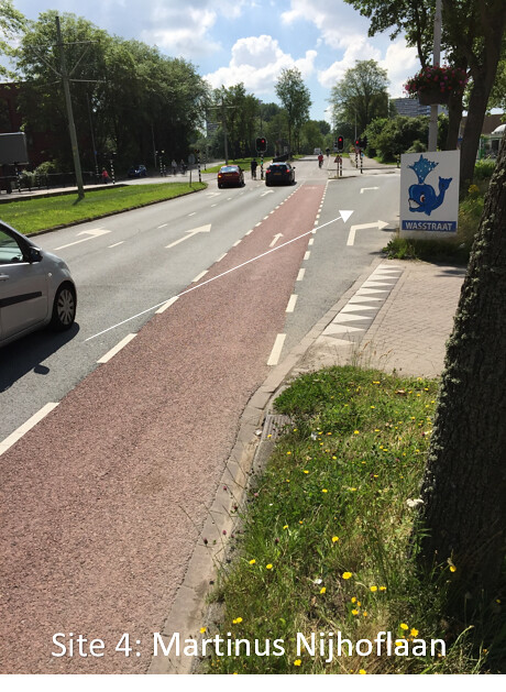 4 - Martinus Nijoflaan (right turn lane)