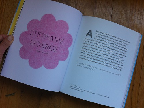 Stephanie Monroe's page in So Pretty! Felt