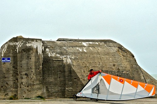 Wind surf check up:ASNELLES-NORMANDY-FRANCE 2013