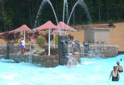 Bahari wave pool in 2005