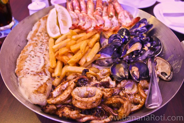 Seafood Platter at Fish & Co Phnom Penh