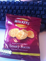 Snack - May 23 - Walker's smoky bacon crisps