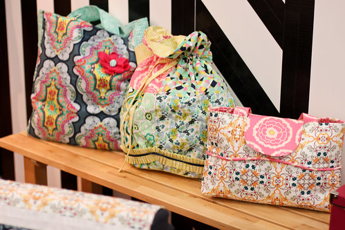 Quilt Market - Pat Bravo's Booth by Jeni Baker
