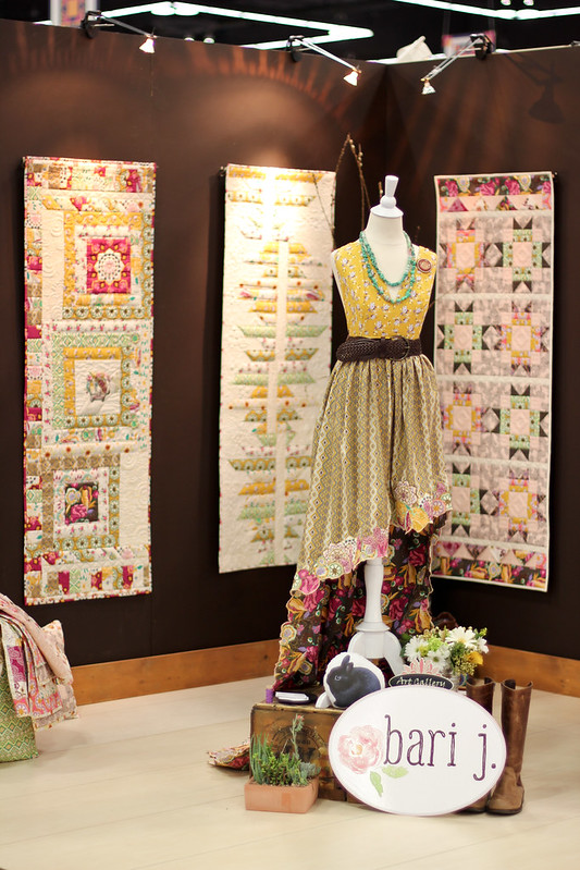 Quilt Market - Bari J's Booth