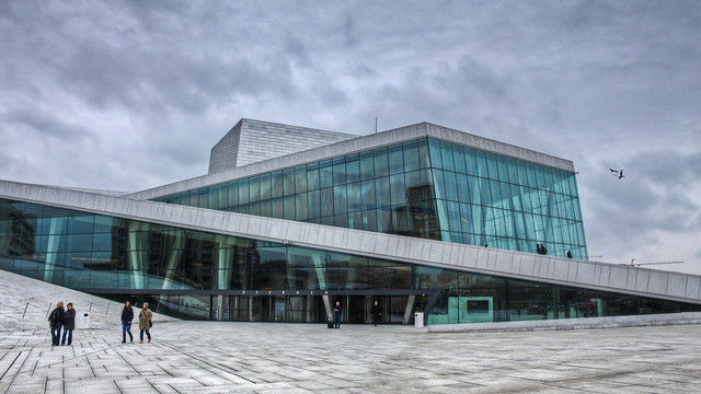 0354 - Norway, Oslo, Opera House HDR