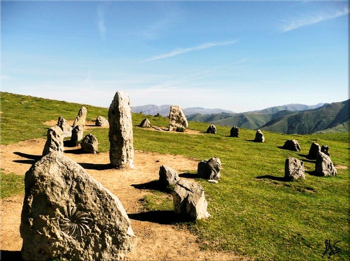 Construcciones megalíticas en el valle de Erro. Autor, Erizu