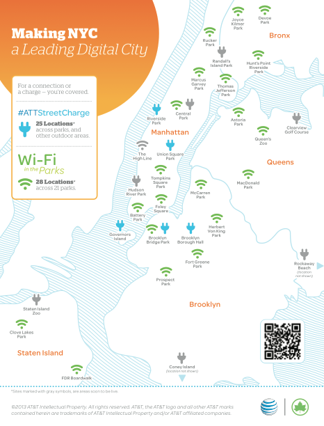 Ньюйоркцы тестируют бесплатные зарядные станции на солнечных батареях