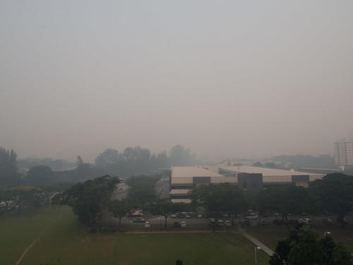 Hazy in Singapore