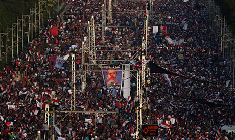 Millions take to the streets all over Egypt to condemn the political rule of President Mohamed Morsi. People are calling for early elections. by Pan-African News Wire File Photos